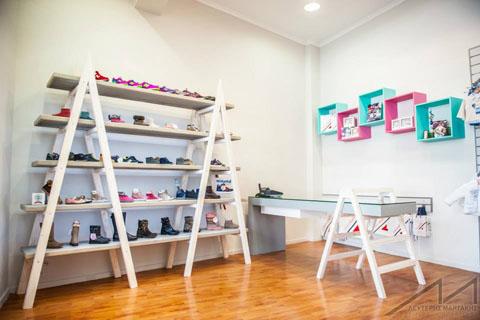 CoccoBello - Fashion for Kids, Coccobello, clothes, children, shoes, παιδικά ρούχα, παπούτσια, σκάλα, ράφι, ράφια